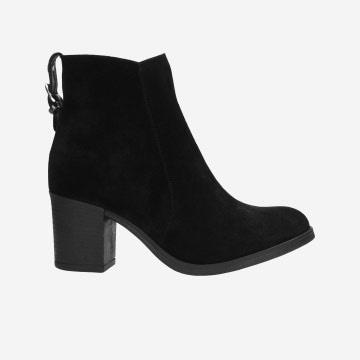 Czarne botki damskie 9584-61