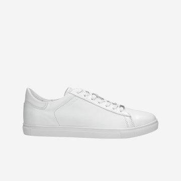 Białe sportowe półbuty męskie 9060-59