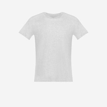 Popielata koszulka męska V 98000-80