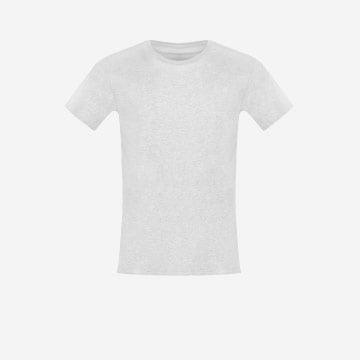 Popielata koszulka męska U 98001-80