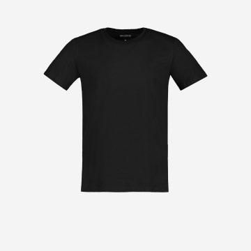 Czarna koszulka męska U 98001-81