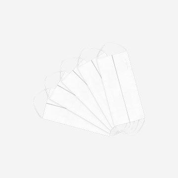 Maseczka uniwersalna 5-pak premium z jonami srebra - biały. 981015