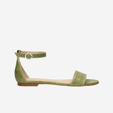 Zielone damskie sandały 76007-57