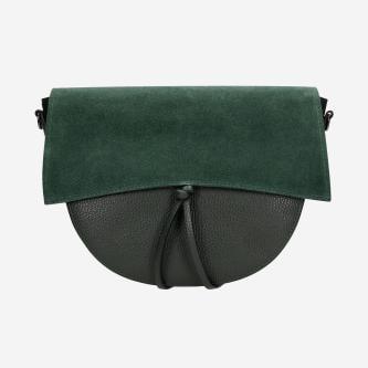 Mała zielona torebka damska na co dzień 80030-77