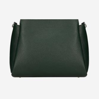 Zielona skórzana torebka damska 80106-57