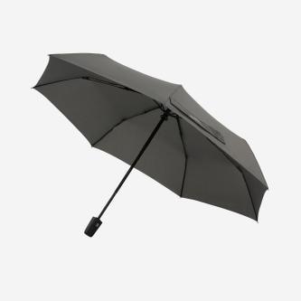 Szary parasol damski z podwójnym automatem 96702-10