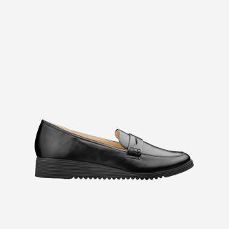 WJS czarne loafersy damskie WJS64004-51