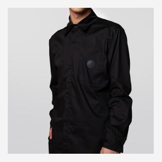 Czarna koszula męska PILAWSKI K600002-81