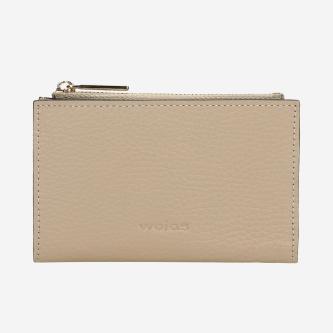 Beżowy nieduży portfel damski 91022-44