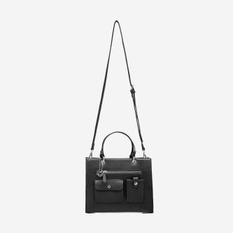 WJS czarna torebka kuferek WJS76002-51