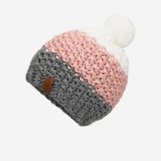 Ręcznie robiona czapka damska  96003-15