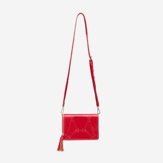 WJS czerwona torebka na co dzień WJS76001-55