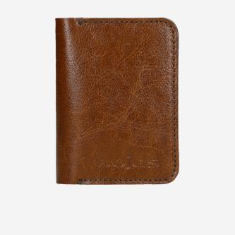 Jasnobrązowy portfel męski - slim wallet 91038-53