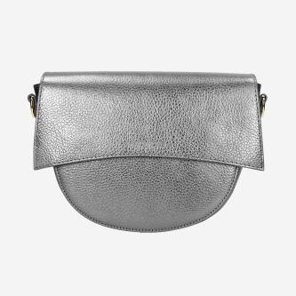 Mała torebka damska w kolorze srebrnym 80122-59