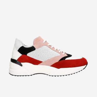 Viacfarebné dámske sneakersy na každodenné nosenie 4609975
