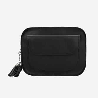 Czarna torebka damska w formie saszetki 80132-51