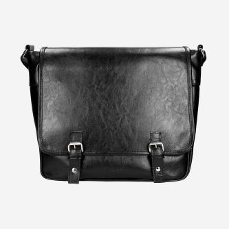 Czarna klasyczna torba męska 80145-51