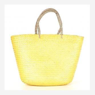 WJS żółta pojemna torebka damska WJS76031-48