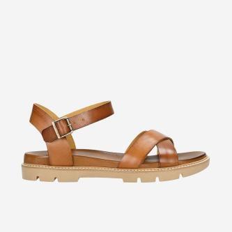 Brązowe sandały damskie w stylu casual 76036-53