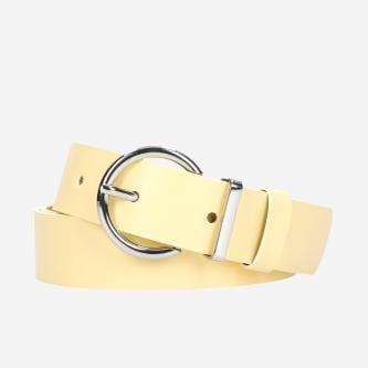 WJS pasek damski w kolorze żółtym WJS91015-58