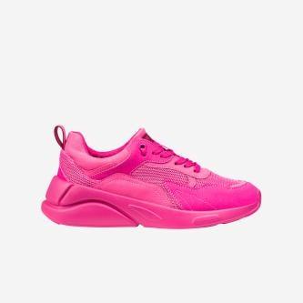 WJS sneakersy damskie w kolorze ciemnego różu WJS64015-55