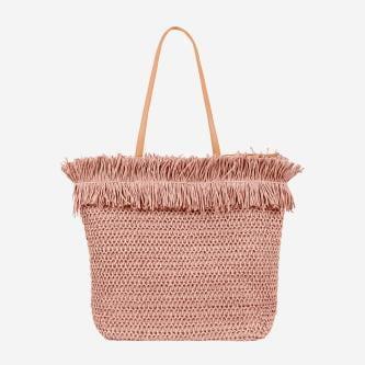 WJS pojemna różowa torebka damska  WJS76052-45