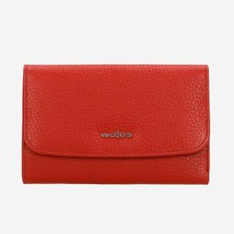Czerowny portfel damski z gładkiej skóry licowej 91018-55