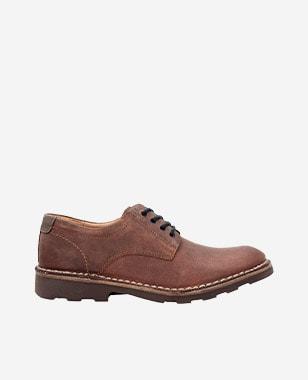 Pánské kožené boty v originálním hnědém provedení 5084-73