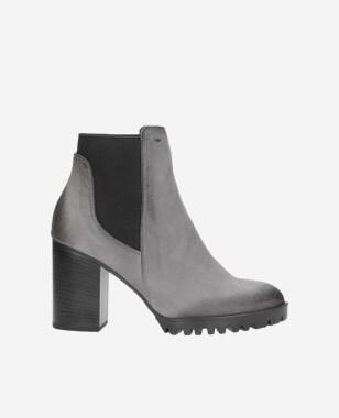 Šedé dámské boty 8594-20