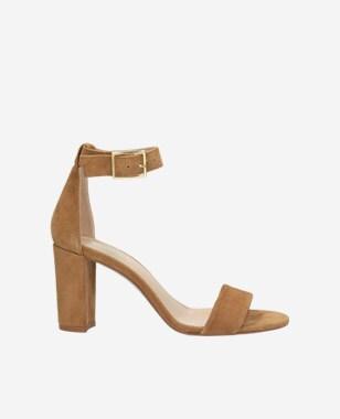Béžové sandále dámske elegantné na letné teplé dni 76028-63
