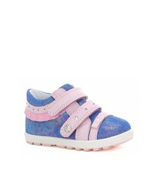 Mini first steps BARTEK W-11733-5/V06, dla dziewcząt, niebiesko-różowy W-11733-5/V06