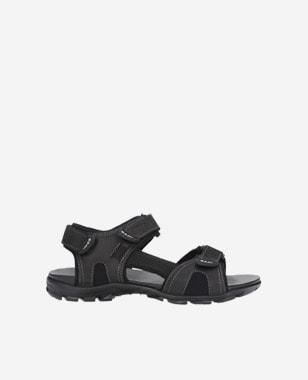 Czarne męskie sandały 29006-91