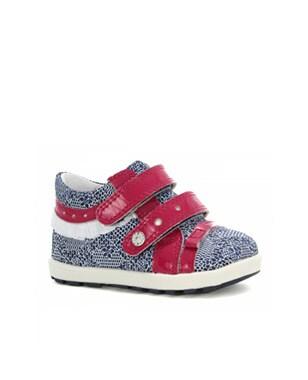 Mini first steps BARTEK W-11733-5/V18, dla dziewcząt, niebiesko-różowy W-11733-5/V18
