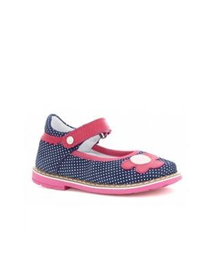 Czółenka BARTEK W-11837/1MP, dla dziewcząt, niebiesko-różowy W-11837/1MP