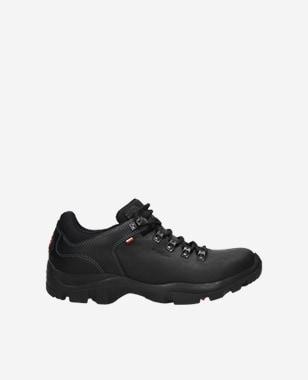 Čierna pánska športová obuv na vychádzky 9377-91