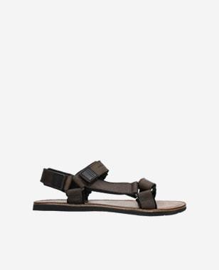 Brązowe sandały męskie ze skóry crazy horse 29003-92