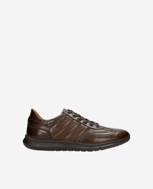 Hnedá pánska športová obuv pre všetkých športovcov 10038-52