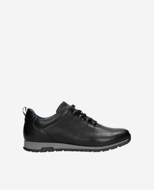 Černé sportovní boty pánské v minimalistickém stylu 10039-51