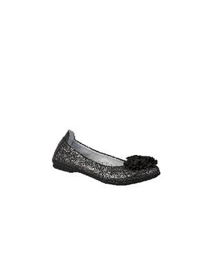 Czółenka BARTEK W-55452/NR/15G II, dla dziewcząt, czarno-srebrny W-55452/NR/15G II