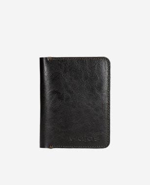 Cienki portfel męski w kolorze ciemnego brązu 91039-52