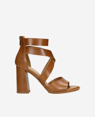 Krok k elegancii jedine s koženými sandálmi dámskymi 76050-53