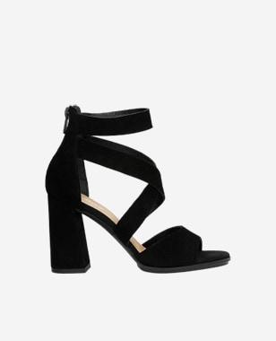 Čierne letné sandále dámske pre každú tajomnú ženu 76050-61