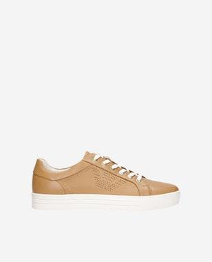 Kožené dámske sneakersy na príjemné jarné chvíle  46084-54