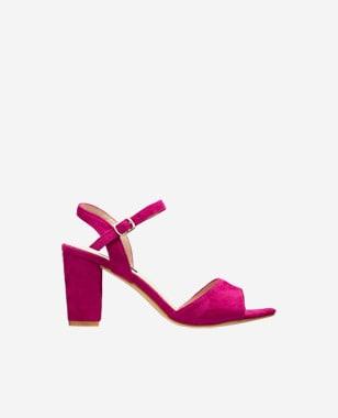WJS różowe sandały damskie z tworzywa sztucznego WJS74012-65