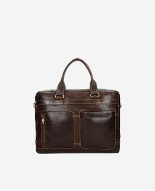 Brązowa torba męska do pracy 80141-52