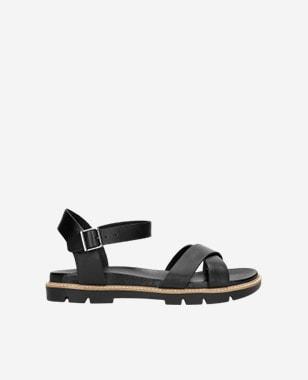 Praktické a štýlové kožené dámske sandále na leto 76036-51