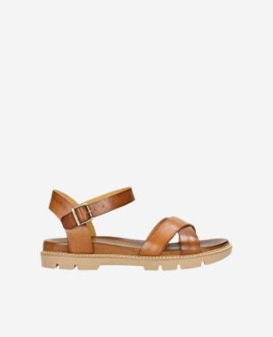 Pohodlné dámske sandále z pravej prírodnej kože 76036-53