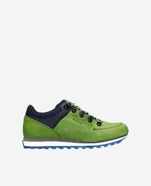 Zelené dámske sneakersy do mesta i do prírody 46083-97