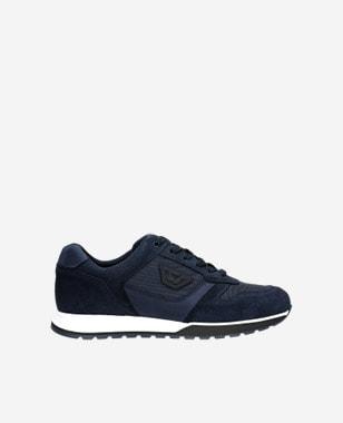 Kvalitní botasky pánské v granátové barvě 10095-86