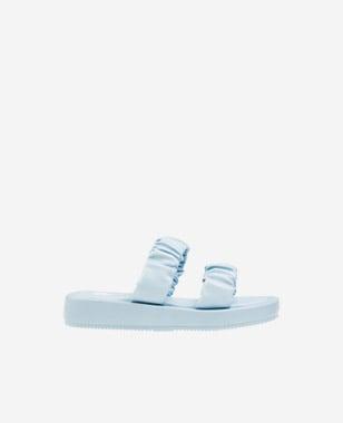WJS klapki damskie w kolorze niebieskim WJS71030-56
